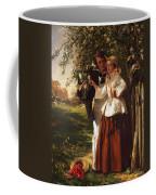 Lovers Under A Blossom Tree Coffee Mug