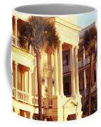 Low Angle View Of Historic Houses Coffee Mug