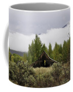 Low Clouds On The Mountain Coffee Mug