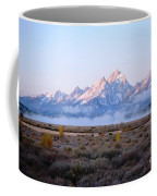 Low Sunrise Clouds Coffee Mug