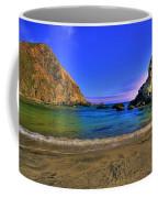 Low Tide At Big Sur Coffee Mug