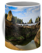 Low Tide At The Arches Coffee Mug