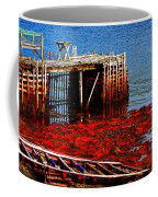 Low Tide - Red Seaweed - Fishing - Moratorium Coffee Mug