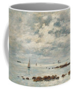 Low Tide Saint Vaast La Hougue Coffee Mug