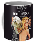 Lowchen Art - Belle De Jour Movie Poster Coffee Mug