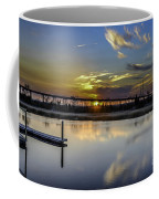 Lowcountry Marina Sunset Coffee Mug
