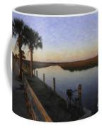 Lowcountry Winter Marsh Coffee Mug