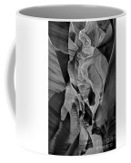 Lower Antelope Glow Black And White Coffee Mug