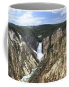 Lower Falls Of The Yellowstone Coffee Mug
