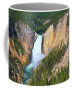 Lower Falls Yellowstone 2 Coffee Mug