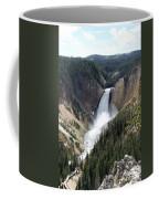 Lower Falls Yellowstone Coffee Mug