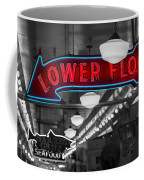 Lower Floor Selective Black And White Coffee Mug