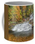 Lower Kent Falls Square Coffee Mug
