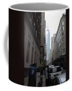 Lower Manhattan And The New World Trade Center Coffee Mug