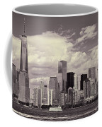Lower Manhattan Skyline 2 Coffee Mug