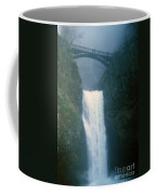 Lower Multnomah Falls Through The Mist Coffee Mug