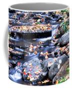 Lower Part Of Munising Falls Coffee Mug