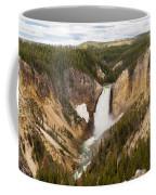 Lower Yellowstone Canyon Falls Coffee Mug