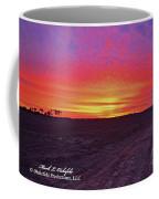 Loxley Al Sunset Dec 2013 I Coffee Mug