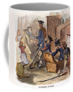 Loyalist Home, 18th C Coffee Mug