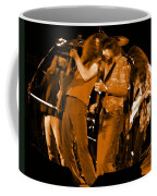 Ls Spo #68 Enhanced In Amber Fisheye Coffee Mug
