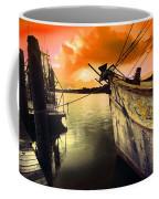 Lsu Shrimp Boat Coffee Mug