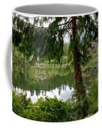 Lush Green At Starvation Lake Coffee Mug