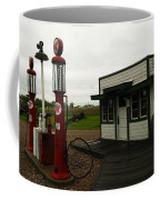 Lubrication Center Hardin Montana Coffee Mug by Jeff Swan