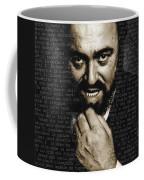 Luciano Pavarotti Coffee Mug