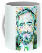 Luciano Pavarotti - Watercolor Portrait Coffee Mug