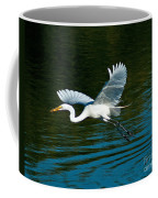 Lucky Egret Coffee Mug