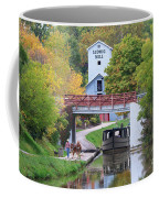 Ludwig Mill And Canal Boat  1480 Coffee Mug