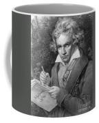 Ludwig Van Beethoven Coffee Mug