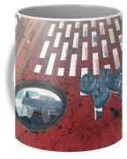 Lug Nuts On Grate And Circle H Coffee Mug