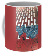 Lug Nuts On Grate Vertical Coffee Mug