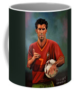 Luis Figo Coffee Mug by Paul Meijering