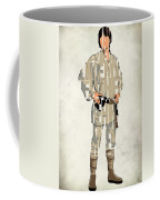 Luke Skywalker - Mark Hamill  Coffee Mug by Ayse Deniz