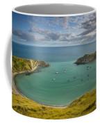 Lulworth Cove Evening Coffee Mug