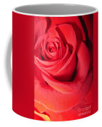 Luminous Red Rose 6 Coffee Mug
