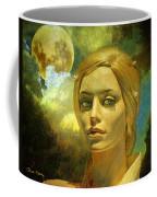 Luna In The Garden Of Evil Coffee Mug by Chuck Staley