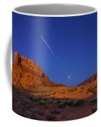 Lunar Eclipse Sequence From Monument Coffee Mug