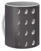 Lunar Phases Coffee Mug