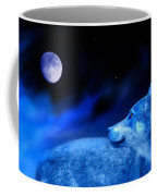 Lunar Wolf 2 Coffee Mug