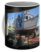 Lunch At Griffs On The Coast Coffee Mug