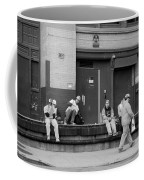Lunch Time In Black And White Coffee Mug