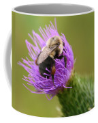 Lunching Atop A Thistle Coffee Mug
