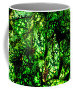 Lungwort Leaves Abstract Coffee Mug