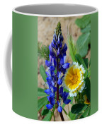 Lupine And Tidy Tip Coffee Mug