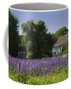 Lupine Flowers Near Round Pond Maine Coffee Mug