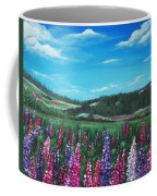 Lupine Hills Coffee Mug